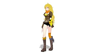 [World of MMD] 00001 - Yang Walk Cycle