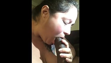 TxSweetHoney29 sucking Big Cock Willy till he explodes all over her face