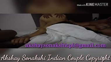 Indian wife sonakshi sex with African guy