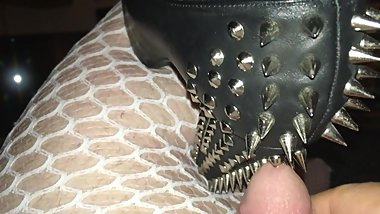 sissy cock and ball heels sex