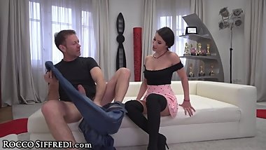 Rocco Siffredi Wants 2 Know If She's REALLY NASTY!?