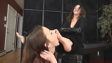 Emma lickled and tickled