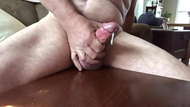 Cock ring jerking