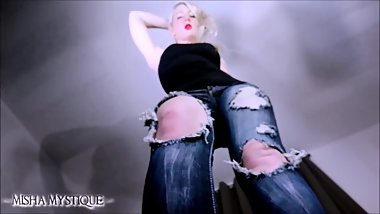Giantess crush squish high heels POV