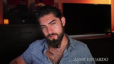Hot ASMR Boyfriend Dirty Talk Role Play Ft. Handsome Bearded Naughty Man
