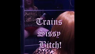 Sexy Witch Trains Sissy Bitch
