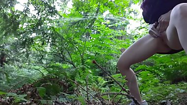 Distance Power Piss In The Forest