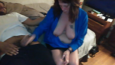 Brockton Aunt Can't get the cum out