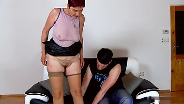 Caramel clit and mommy Libuse's sweet pussy