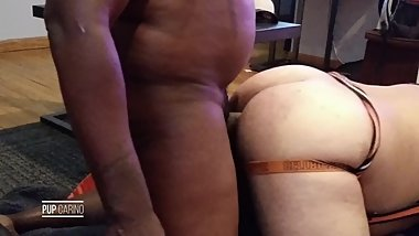 Hung Black Pup Fucks Big Ass Latino Cub Pup pt1