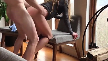 Shameless Busty Wife Used Hard By Her Boss For Promotion