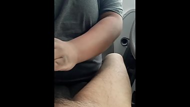 Daddy Gets Sucked By Chubby Son