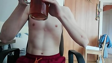 My first belly stuffing with few litres of tea