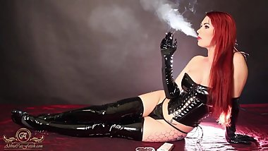 Latex/Smoking Fetish PMV