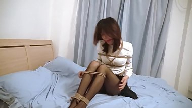 Playful Chinese bondage