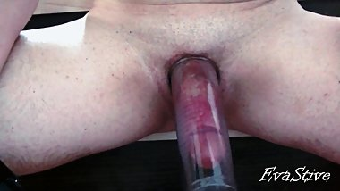 brought his cock to orgasm vacuum pump