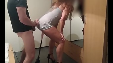 Sexmachine standing high heels