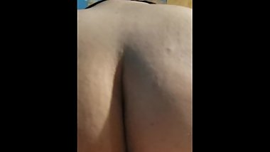 PAWG Riding Backwards Cowgirl on Her Boyfriend