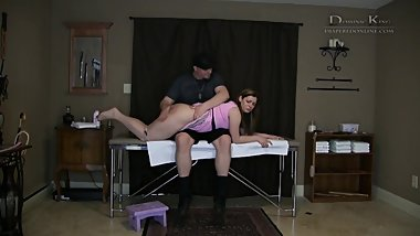 Ten Gets A Spanking and Diapers From Daddy Dominic - ABDL