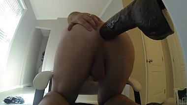 I Love Taking The Bam Realistic Dildo In The Ass - 20190710 (GoPro HD)