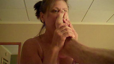 hotwife diane b shows the neighbor a good time