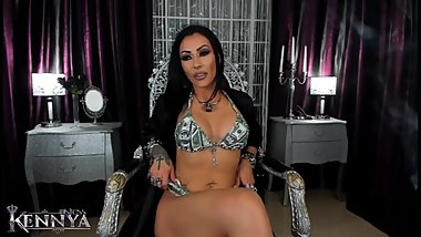 Mistress Kennya: I love money more than anything else preview