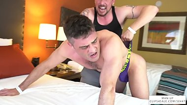 Hotel Bully Gives Out Intense Wedgies