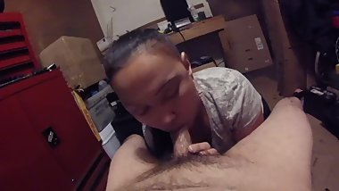 Cheating with my cousin POV blowjob