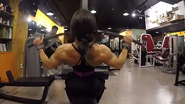 Korean back workout