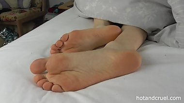 Mistress Lily's Sleepy Soles - Spying on Alt Girl's Feet - Trailer