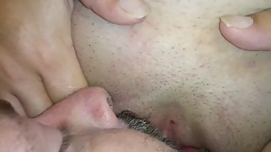 Late night pussy licking