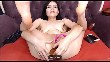 Webcam LIVE Angelina Rogers, Grand Dildo and Foot Fetish.