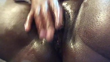Big Huge Clit Edging to Squirt Session