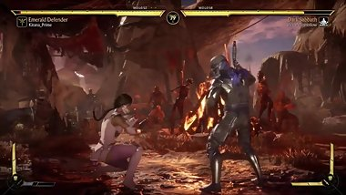 I RAN INTO KITANA PRIME  MK11 Noob Saibot Kombat League Gameplay