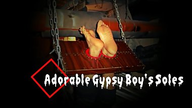 Adorable Gypsy Boy's Soles