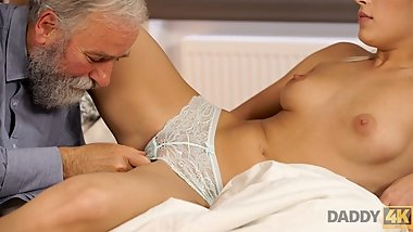 DADDY4K. Old and young porn action of Ria Sunn and her BFs