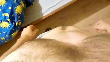 Undressing and little teasing before sleep POV