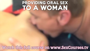 Sex Course: How To Lick Pussy / Oral Sex (www.SexCourses.tv)