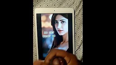 Shruti Hassan - Fap Tribute - Cum on iPadMini