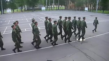 Russian men Fuck the entire world whilst singing national anthem