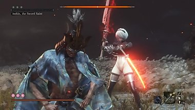 Sekiro  Mods: 2B - Isshin, the Sword Saint