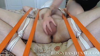 Bastienne Cross Toronto Domme Ball Torture Edging Footjob Ruined Orgasms