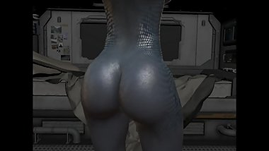 Sexy Alien Scientist