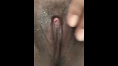 Playing with my Beautiful Brown Pussy
