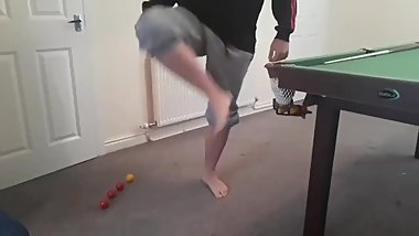 Picking up Snooker Balls With my Dextrous Feet