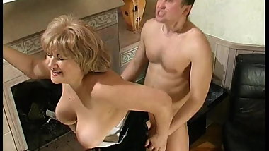 Mature woman and guy - 57