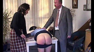 School girl smacked 5
