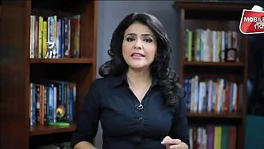 Beautiful Anchor Sweta Singh  Aaj Tak