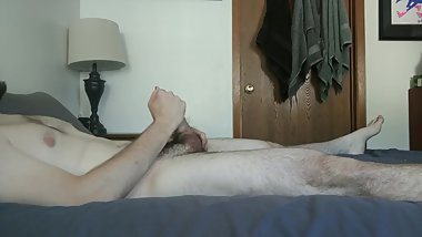 Touching Myself While She's at Work