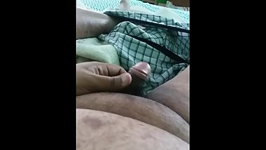 Playing with my Dick.